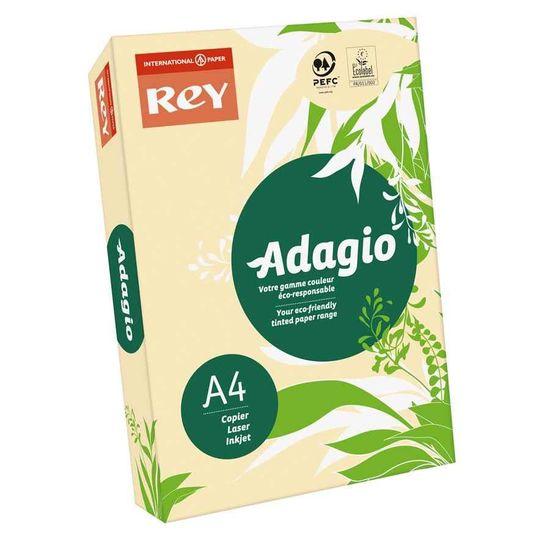 Бумага цветная офисная А4 Adagio Pastel Sand 38 (желтый) 80 г/м2 500 листов