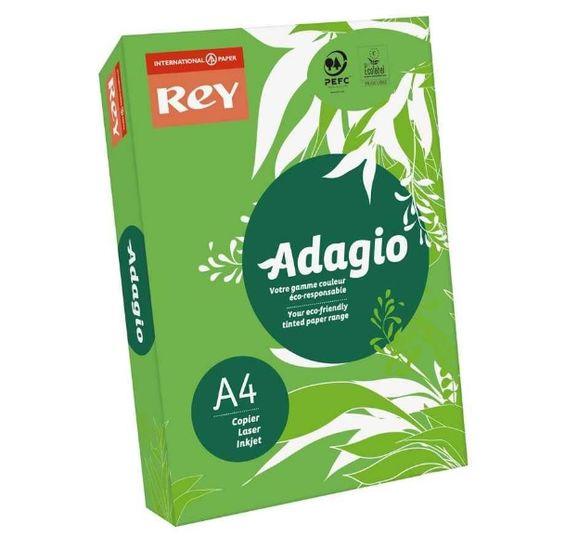 Бумага цветная офисная А4 Adagio Intense Deep Green 52 (зеленый) 80 г/м2 500 листов