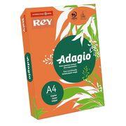 Папір кольоровий офісний А4 Adagio Intense Orange 21 (помаранчевий) 160 г/м2 250 аркушів