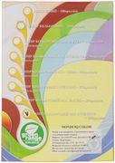 Папір кольоровий офісний А4 IQ Mix Intensiv 160 г/м2 50 аркушів 5 кольорів по 10 аркушів
