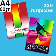 Папір А4 80 Paperline 500 арк. IK TURQUOISE 220