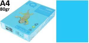 Папір А4 80 IQ INT AB48 Agua Blue (блакитний)