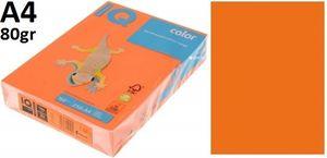 Папір А4 80 IQ INT OR43 (помаранчовий) 500 арк.