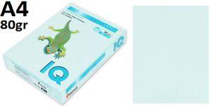 Папір А4 80 IQ Pas ВL29 (світло-блакитний) 500 арк.