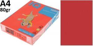 Папір А4 80 IQ INT CО44 (коралово-червоний)