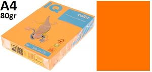 Папір А4 80 IQ Neon Neoor (оранжевий) 500 арк.