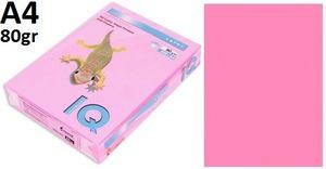 Папір А4 80 IQ Neon Neopl (рожевий) 500 арк.