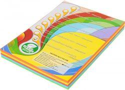 Бумага цветная офисная А4 IQ Mix Intensiv 160 г/м2 125 листов  5 цветов по 25 листов