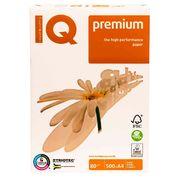 Папір офісний білий А4 IQ Premium 80 гр/м2 500 аркушів A+