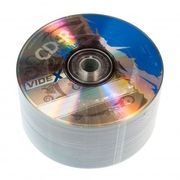 Videx X-Blue CD-R 700 Mb 52x bulk 50