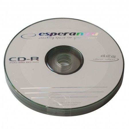 Esperanza CD-R 52x bulk 10