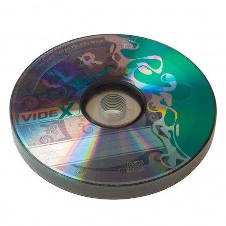 Videx X-Green CD-R 700 Mb 52x bulk 10