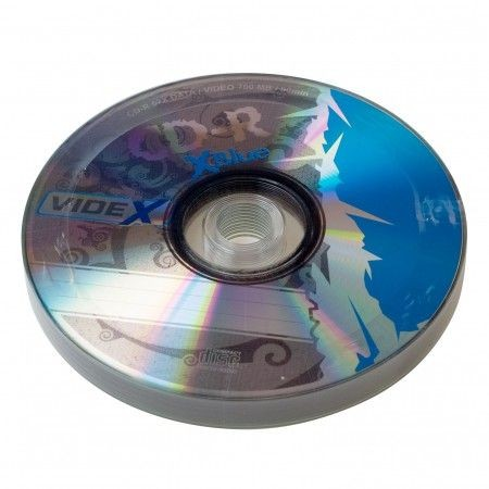 Videx X-Blue CD-R 700 Mb 52x bulk 10