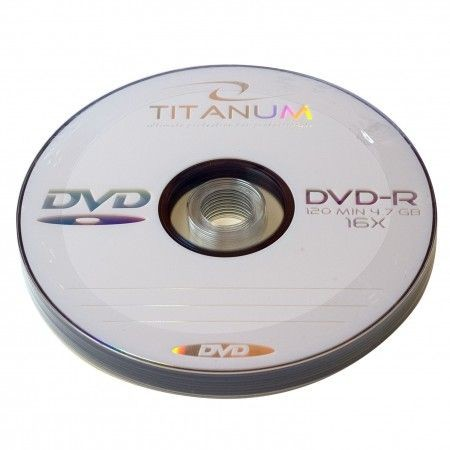 Titanum DVD-R 4.7Gb 16x bulk 10