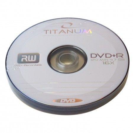 Titanum DVD+R 4.7Gb 16x bulk 10