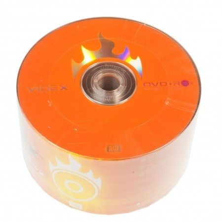VIDEX DVD+R 4.7Gb 16x bulk 50
