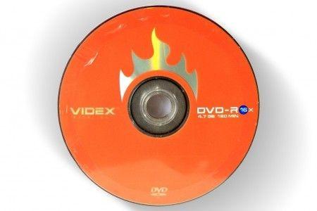 VIDEX DVD -R 4.7Gb 16x bulk 10