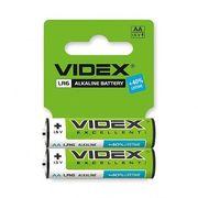 Батарейка лужна Videx LR6/AA 2шт SHRINK CARD