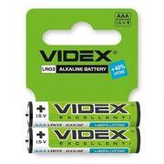 Батарейка лужна Videx LR03/AAA 2шт SHRINK CARD