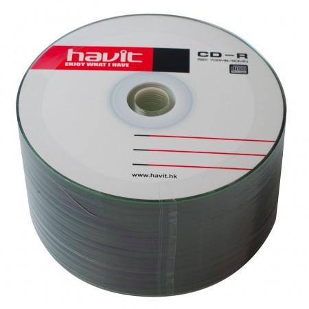 Havit CD-R 52x 700 Mb bulk 50