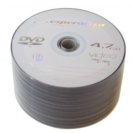 Esperanza _DVD+R 4.7 Gb 16x bulk 10