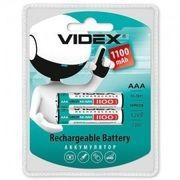 Аккумуляторы Videx HR03/AAA 1100mAh double blister/2pcs 20/200