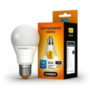 LED лампа VIDEX A60e 7W E27 4100K