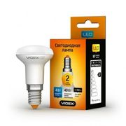 LED лампа VIDEX R39e 4W E14 3000K 220V 20шт/ящ