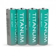 Батарейка сольова Titanum R6P/AA 4шт SHRINK