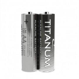 Батарейка лужна Titanum LR6/AA 2шт SHRINK