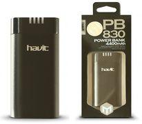 4400 mAh, power bank HAVIT HV-PB830 black, 1А (100шт/ящ)