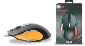 Ігрова дротова миша HAVIT HV-MS762 (4000 dpi, 9 кл)