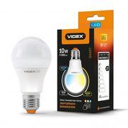 LED лампа з регулюванням кольоровості VIDEX A60eC3 10W E27