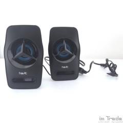 Акустическая система HAVIT HV-SK585 USB, 2,0 Акустическая система, black blue (40шт/ящ)