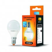 LED лампа VIDEX G45e 7W E14 4100K 220V 20шт/ящ