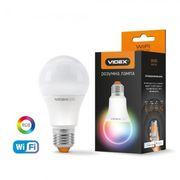 LED смарт лампа VIDEX A60 RGB CW WI-FI 12W E27