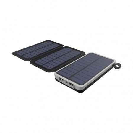 10000 mAh (на солнечной батарее) solar power bank HAVIT HV-H522I, black (40шт/ящ)
